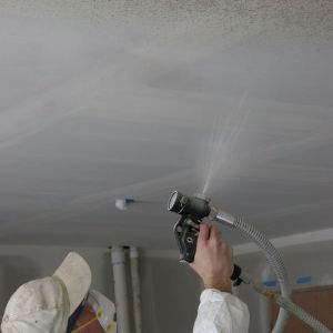 Textured Ceiling Removal